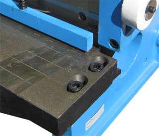 52 x 16 GAUGE Sheet Metal Shear Finger Pan Box Brake Bender Slip Roll