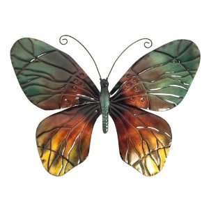 Large Contemporary Butterfly Metal Wall Art New