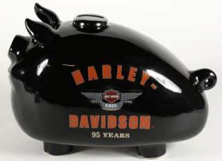 Large Harley Davidson 95 Year Anniversary Gas Tank Hog Piggy Bank 10