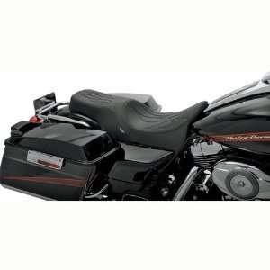 BKRider Predator 2 Up Seat, Flame Stitch for Harley Davidson Touring