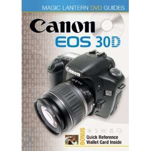 EOS 30D Magic Lantern DVD Guides (Tutorial DVD) Lark Books Books