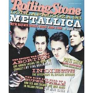 Magazine, Issue 737, June 1996   Metallica Cover Jann S Wenner Books