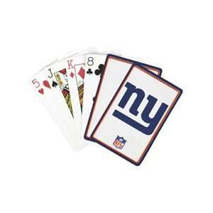 NFL Playing Cards   New York Giants Playing Cards Sports