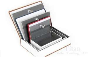 Dictionary Secret Book Hidden Safe With Key Lock Book Safe In Black