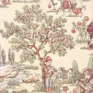 Covington Lickety Split Toile Antique CUSTOM DRAPE PAIR