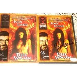John Landis Signed Deer Woman DVD JSA EXACT PROOF   Sports Memorabilia