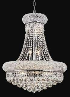 20 Ceiling Lighting Pendant Crystal Chandelier Lamp w. 14 Lts