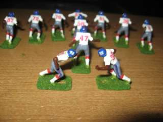 Tudor Electric Football Giants W Stamped Helmet Custom Painted Turf