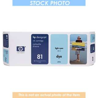 C4934A HP DESIGNJET 5000 NO 81 INK LIGHT CYAN 680ML 25184252601