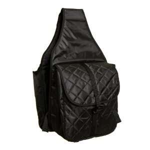 Abetta Brand Small Nylon Saddle Bags Black