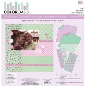 Color Oasis Personalities Flirty Page Kit Arts, Crafts & Sewing