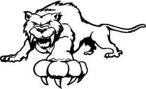 Sabre Tooth Vinyl Decal Car Truck Boat Window Sticker