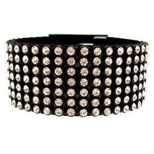 Acosta Jewellery   Clear White Crystal Fashion Bracelet