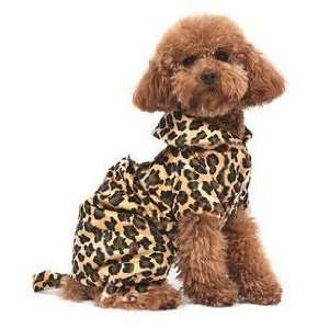 PuppyDog Pet Dress Leopard Fur Pattern Blouse, Four Sizes