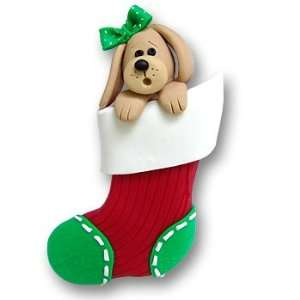 Girl Dog in Small Stocking: Home & Kitchen