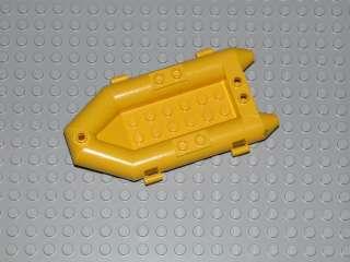 LEGO Yellow Boat, Rubber Raft Coast Guard pirate island