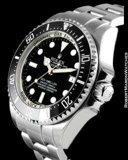 ROLEX SEA DWELLER DEEP SEA 116660 STEEL AUTOMATIC