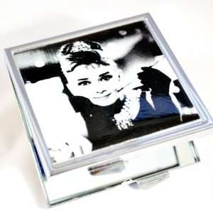 Audrey Hepburn Breakfast At Tiffanys Compact Purse Mirror By Atlantic