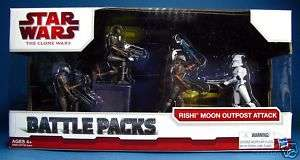 STAR WARS BATTLE PACKS RISHI MOON OUTPOST ATTACK