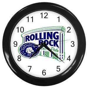 Rolling Rock Beer Logo New Wall Clock Size 10 Free