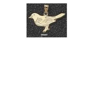 14Kt Gold Baltimore Orioles Bird 5/8