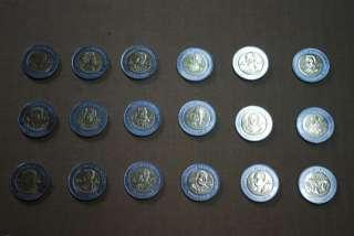 PESOS COIN SET MEXICO COMPLETE COLLECTION REVOLUCION