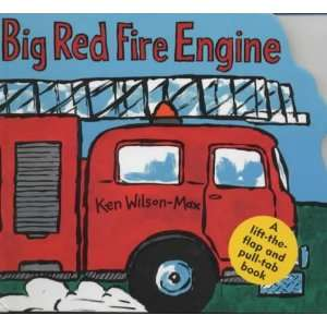 Big Red Fire Engine (Small Format Vehicle Books