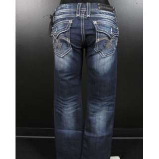Womens ROCK REVIVAL Boot Cut Jeans SASHA B14 RJ8207 With Silver