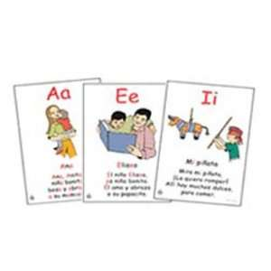 GUERRA PUBLISHING SPANISH ALPHABET CHART SET RIMAS
