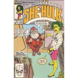 Sensational She Hulk #8 Vol. 2 Mid November 1989 John Byrne Books