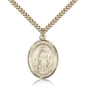 Genuine IceCarats Designer Jewelry Gift Gold Filled St. Juliana