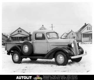 1937 1938 Dodge Pickup Truck Factory Photograph