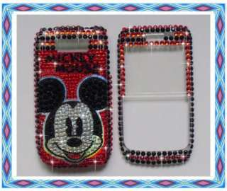 Red Disney Mickey mouse Bling Case Cover For Nokia E72