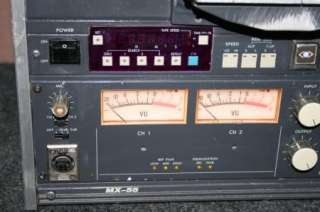 Otari MX 55 Mx 55n Reel to Reel Tape Deck machine