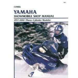 Clymer Service Manual for Yamaha 3 Cylinder Models S827