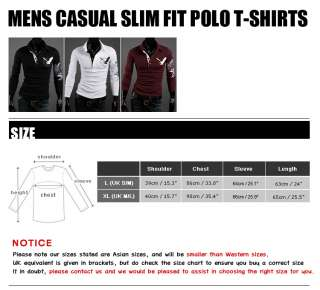 Mens Fashion Casual Slim Fit Tattoo Printed Polo Collar T Shirts Tops
