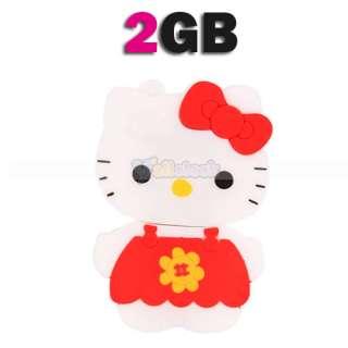 Lovely/Hello Kitt Robot Flash Memory Drive 2GB 4GB 8GB 2G/4G/8G