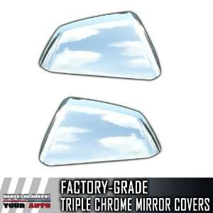 08 12 Cadillac CTS Half Top Chrome Mirror Covers