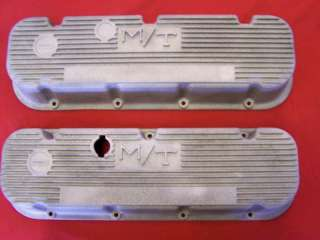 Rat Rod 1960s Pr Of MT BB Chevy Valve Covers #3276396
