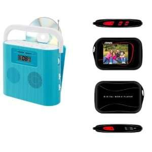 Portable Stereo CD Player with AM/FM Radio and FREE Sport