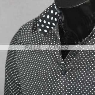 Mens Slim Fit Dress Shirt XS S M Collection q12