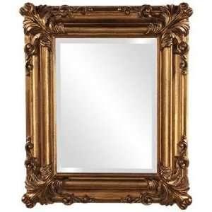 Howard Elliott Edwin 23 High Antique Gold Wall Mirror