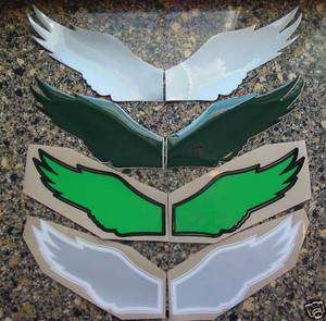 EAGLES WINGS Football Helmet Decals Full Size