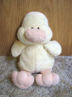 TY PLUFFIES 2002 DUCK PUDDLES SOFT PLUSH BABY LOVEY