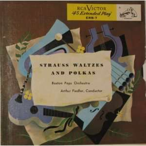 Waltzes and Polkas Arthur Fiedler, Boston Pops Orchestra Music