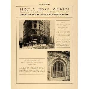 1906 Ad Hecla Iron James Flood National Park Bank San