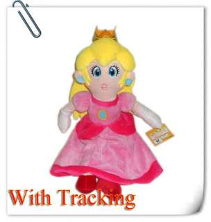 New Super Mario Princess Peach Plush Doll 14