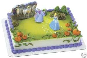 DISNEY PRINCESS Cinderella Godmother cake kit decor NEW