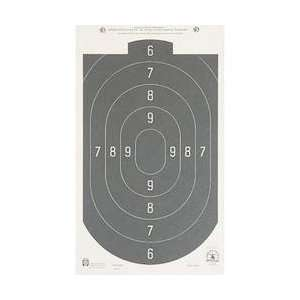 Pistol Targets, 50 ft. Rapid Fire Silhouette 12x20 Tag, 20