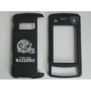LG VX 11000 ENVY ENV TOUCH NFL FOOTBALL OAKLAND RAIDERS FACEPLATE CASE